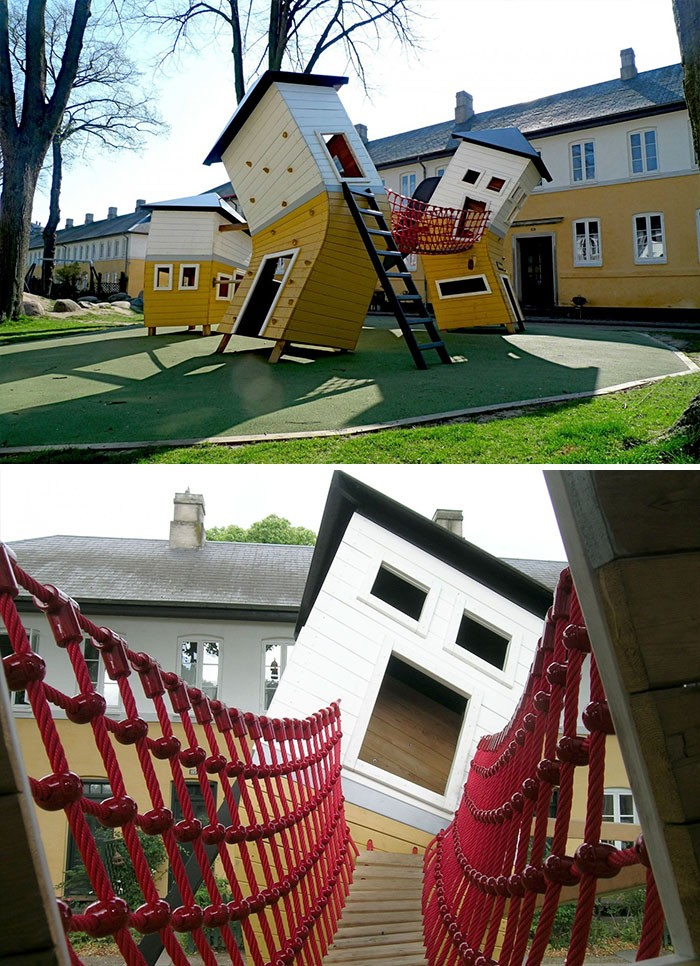 Детские площадки, перед которыми не могут устоять даже взрослые