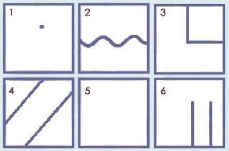 Тест «Квадраты» (широко используется в психоанализе. Пару минут — и Вы узнаете многое о своей личности)
