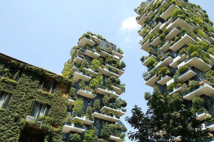 «Вертикальный лес»: необычные достопримечательности мира