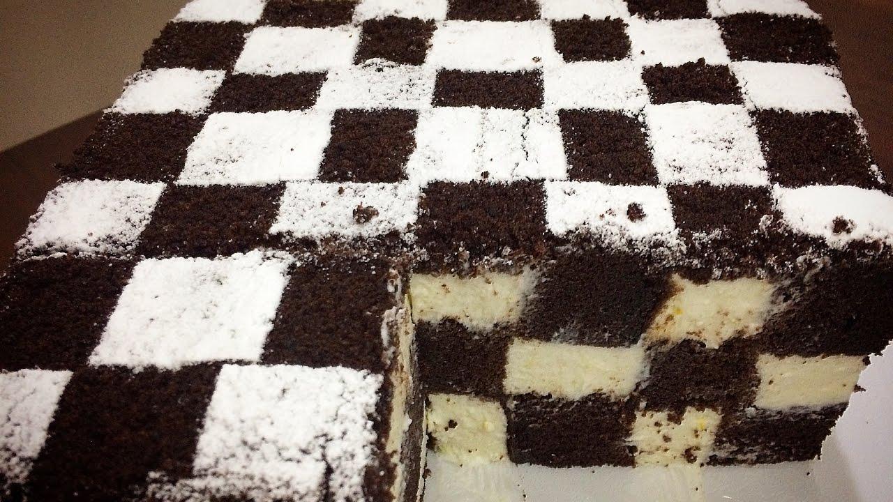 Приготовив этот шахматный чизкейк, почувствовала себя богом кулинарии! А потратила всего 30 минут.