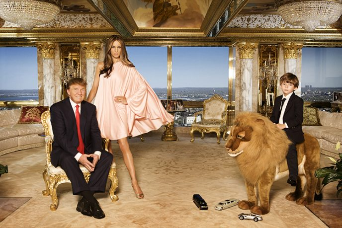 А вы уже видели, как живет Дональд Трамп? Смотрим!