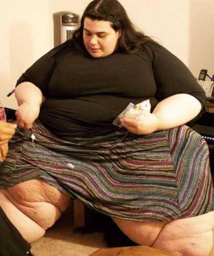Эту красивую девушку с трудом можно узнать! Она потеряла 180 кг!