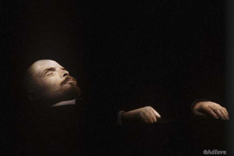 Сенсационная запись с двигающимся телом Ленина