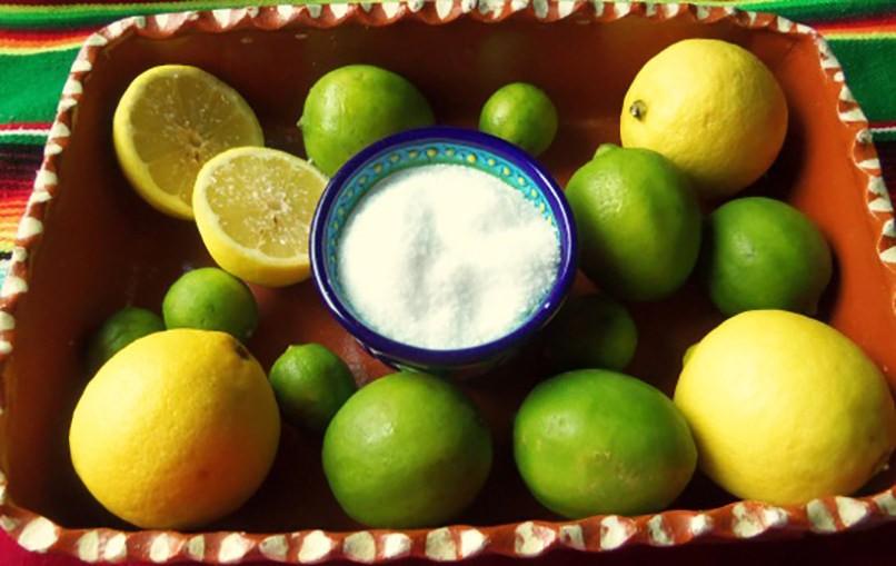 Проблемы, которые решат лимон с перцем и солью