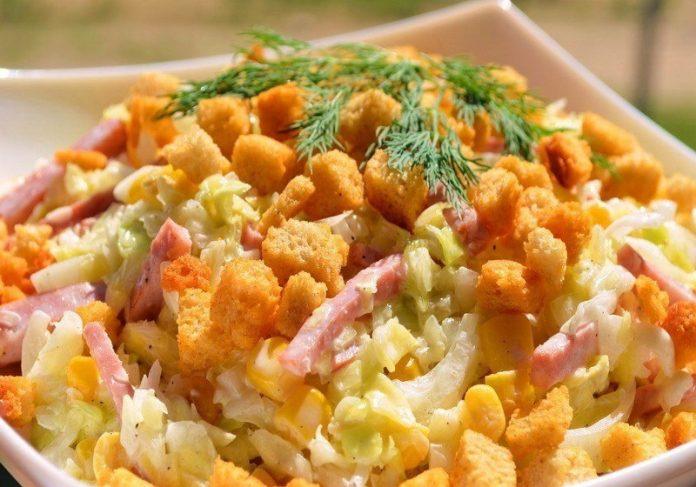 2 рецепта совершенно новых салатов. Это просто вкуснятина!
