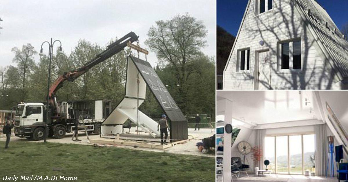 Дом, который можно построить за 6 часов и 000