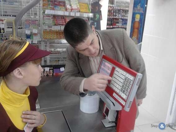 В магазинах, как разводят покупателей