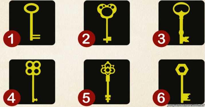 Выберите один — и узнаете 2 своих главных черты. Вот ключи от известного психолога