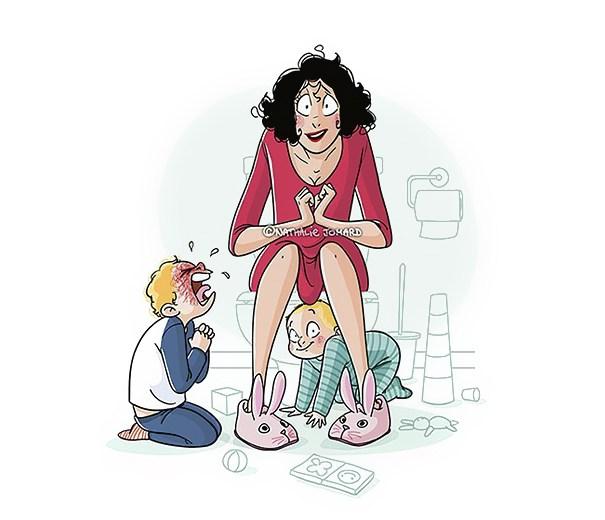 20 Честных иллюстраций о жизни с детьми