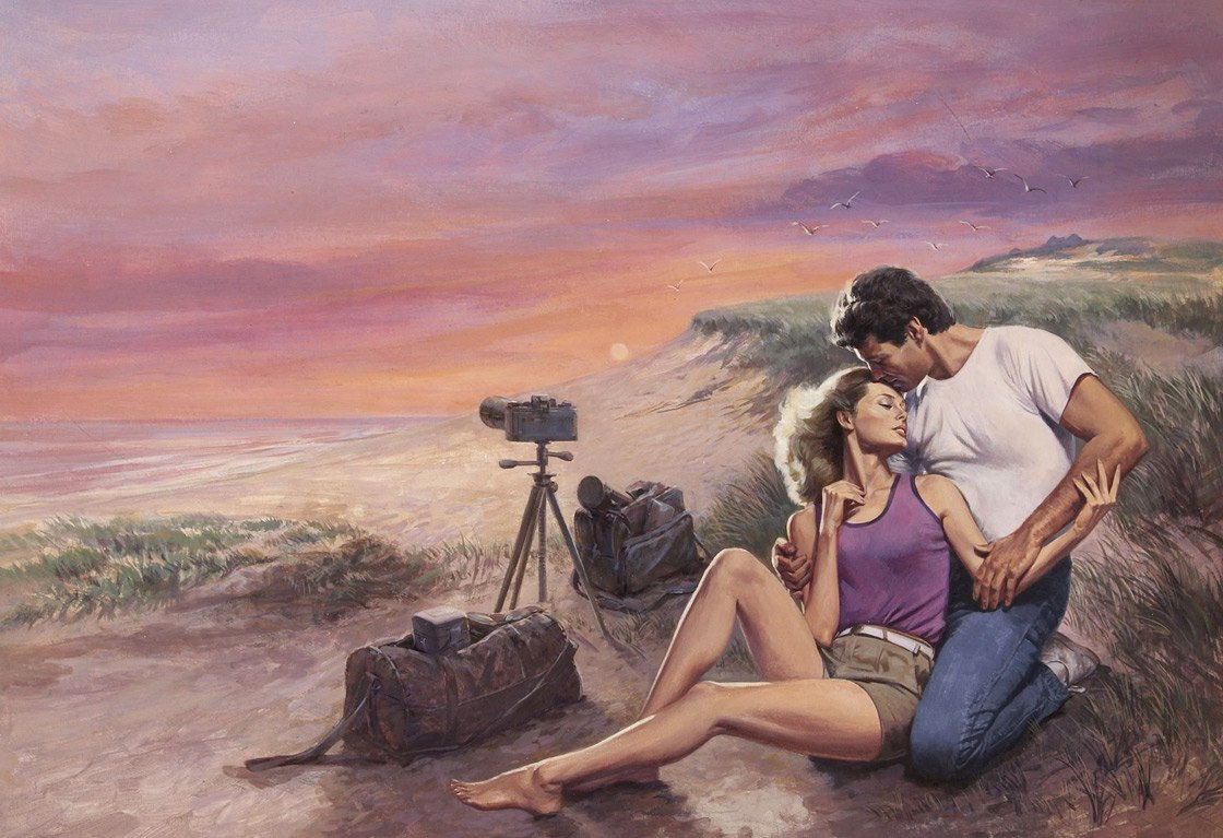 Любовь в мелочах, доказывает американский художник