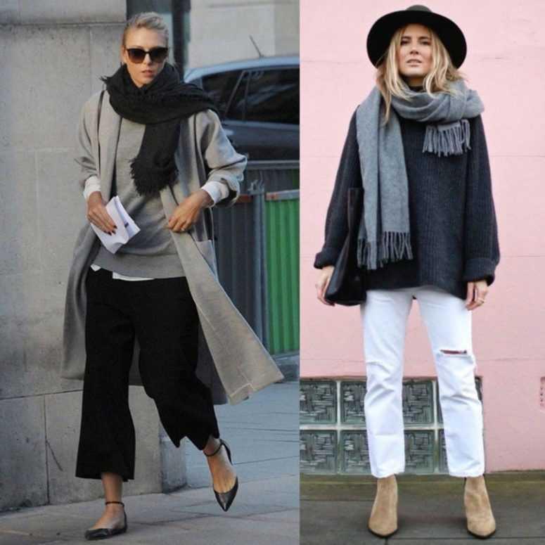 Советы, которые помогут выглядеть стильно: как правильно носить шарф
