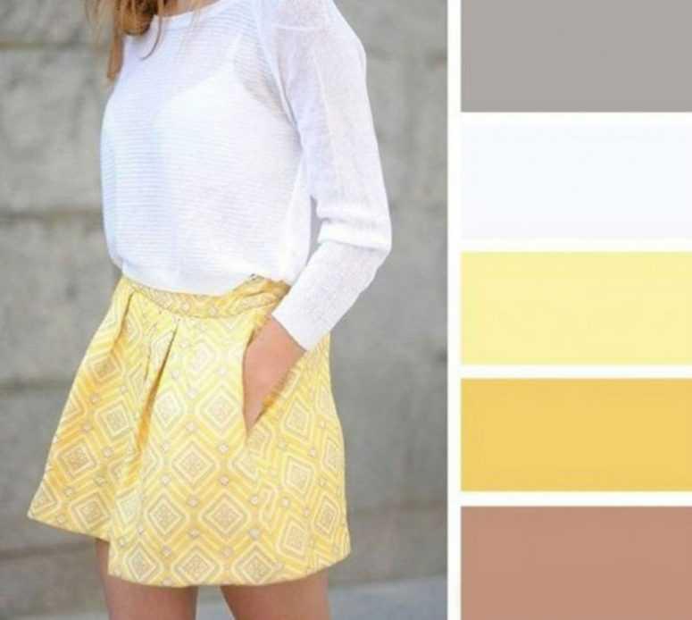 Шпаргалка. Как сочетать цвета в одежде