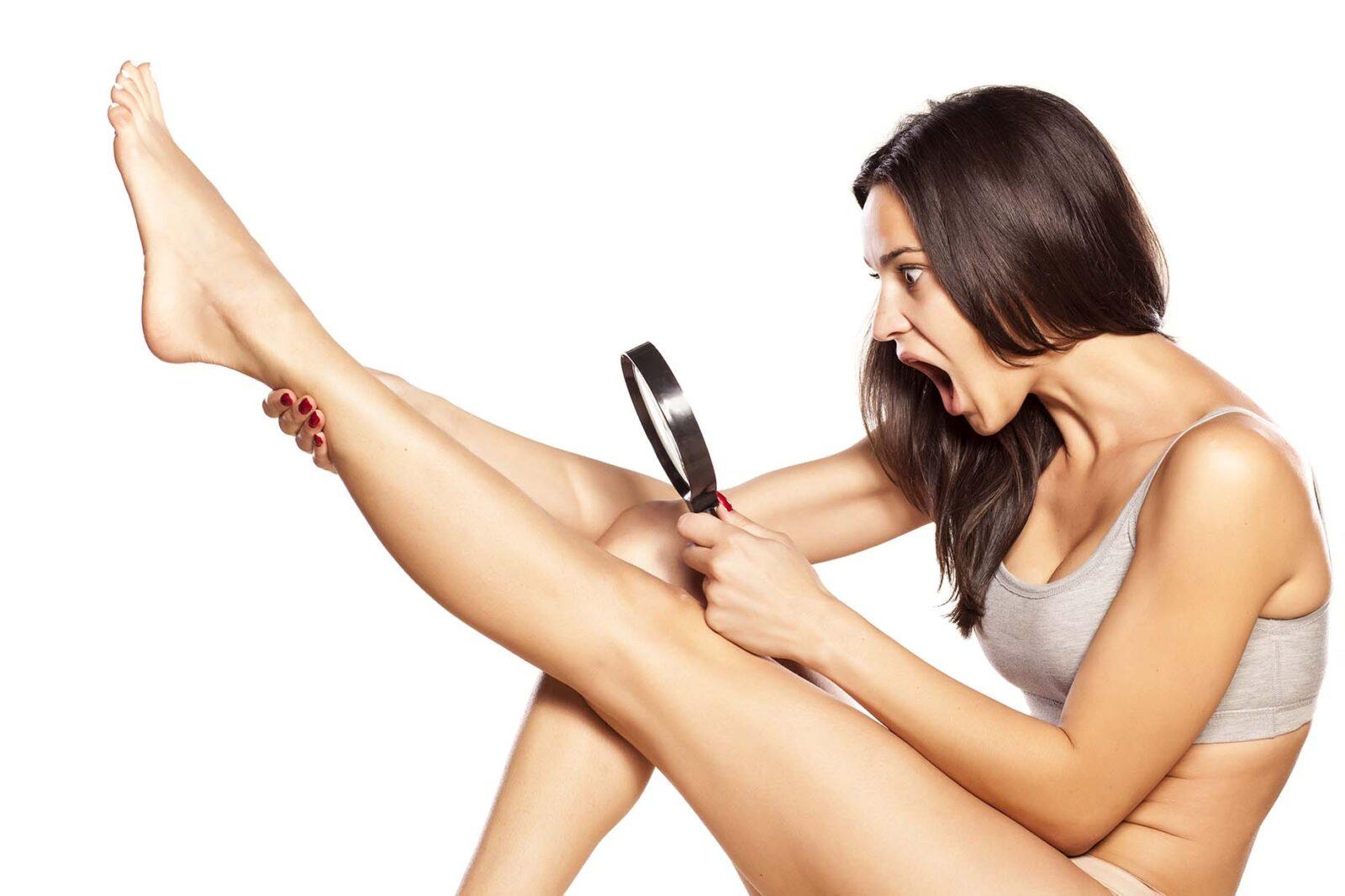 Как в домашних условиях удалить волосы на ногах