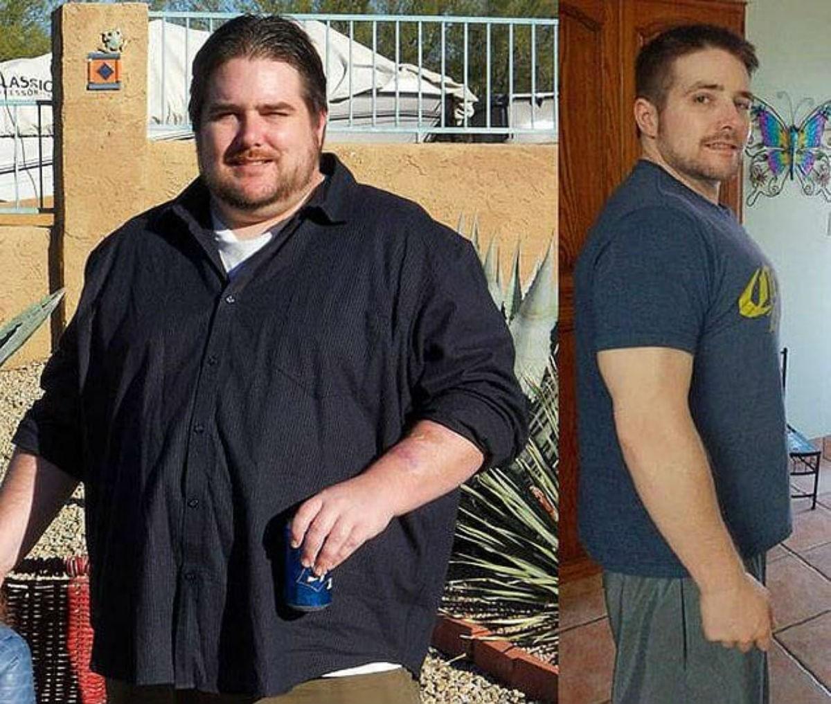 10 фотографий людей, которые смогли похудеть до неузнаваемости