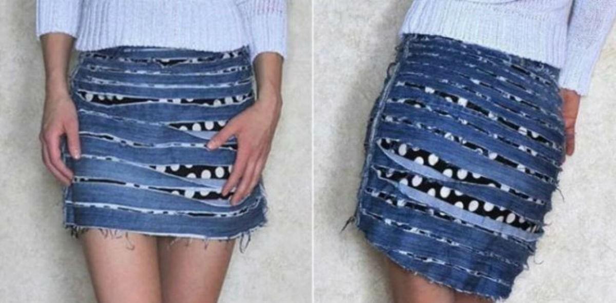 Хоть теперь никогда не выбрасывай старые джинсы