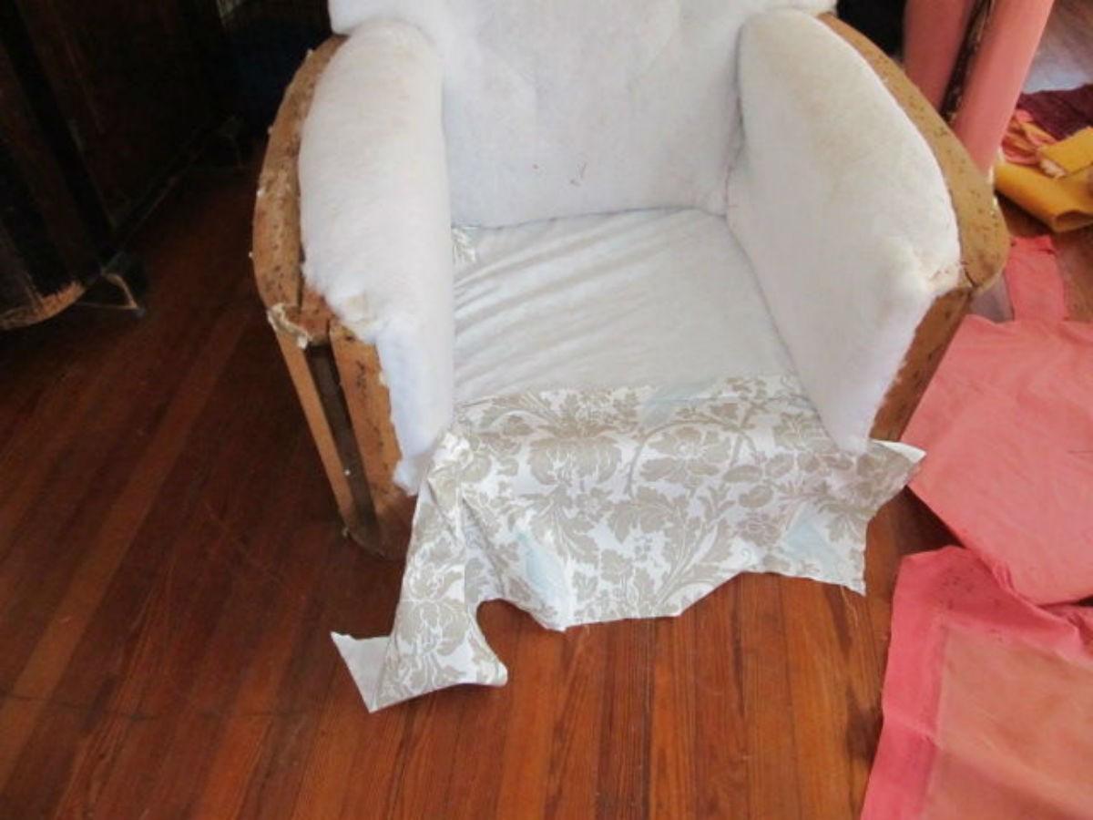 Обшивка кресла своими руками 744