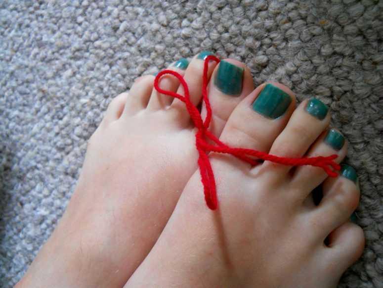 Пальцы на ногах расскажут о вас все