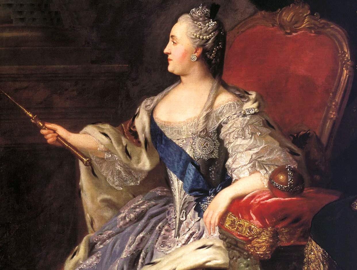 Какой запомнилась Екатерина Великая