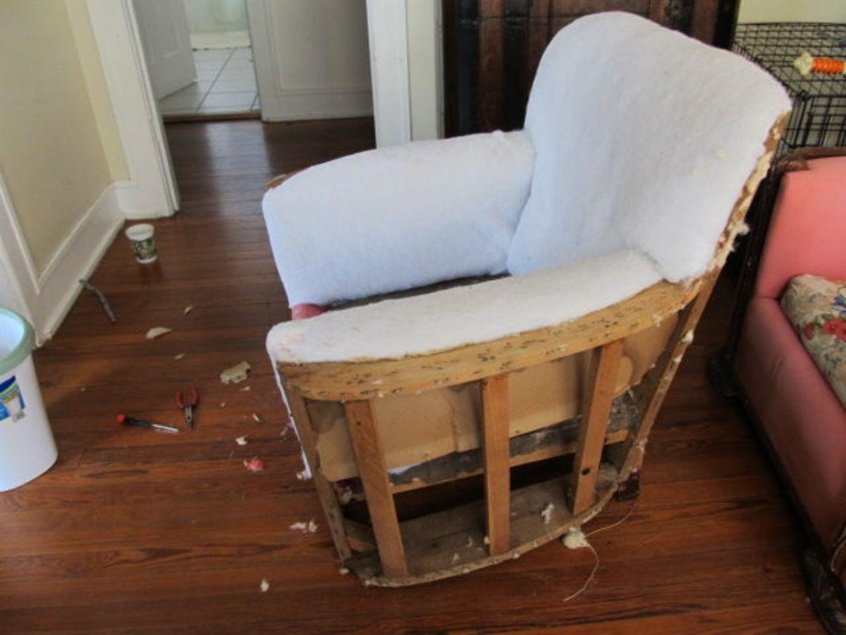 Обшивка кресла своими руками 883