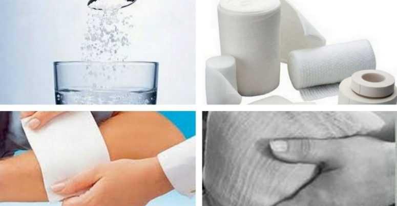 Лечение солью. Как солевые повязки творят чудеса