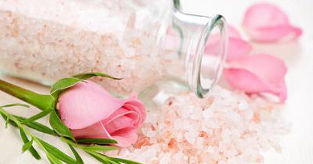 Целительная розовая гималайская соль