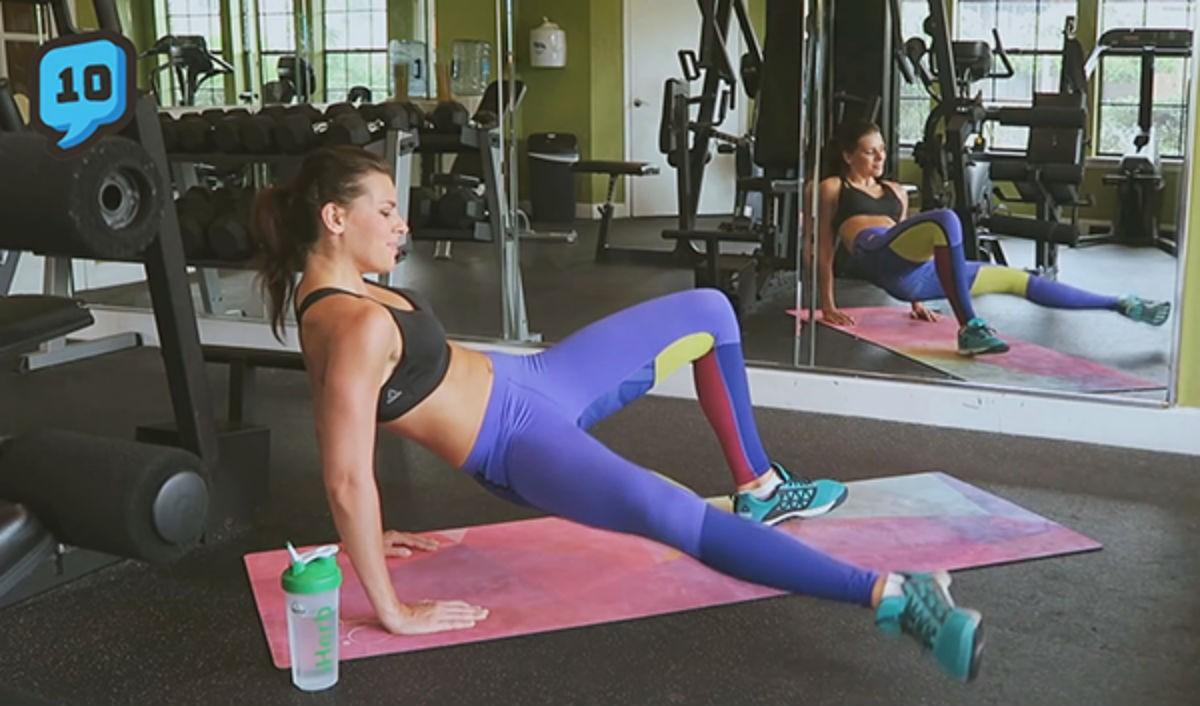 Фитнес тренировка для проблемных зон