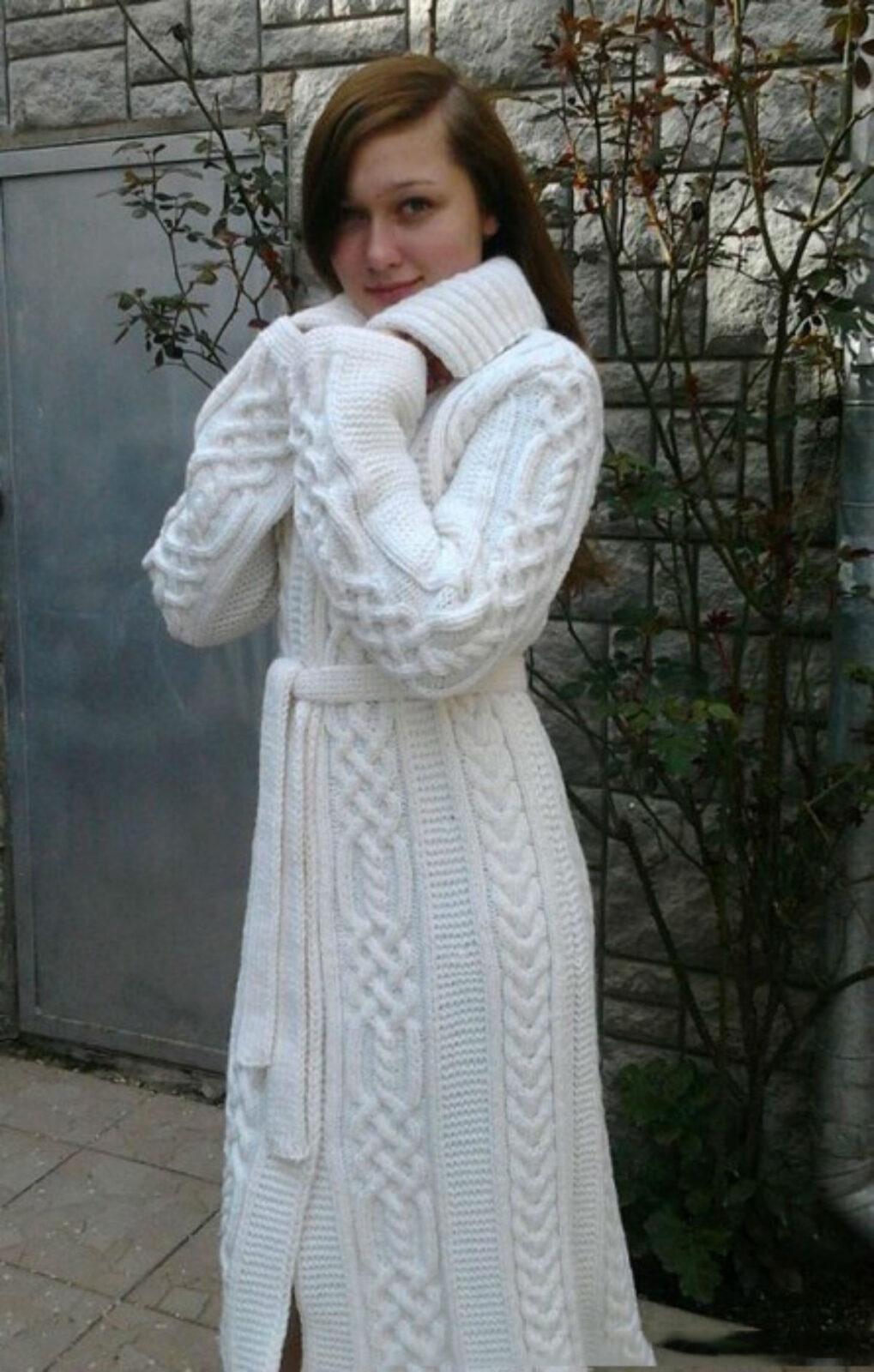 Пальто » Вязание спицами и крючком 76