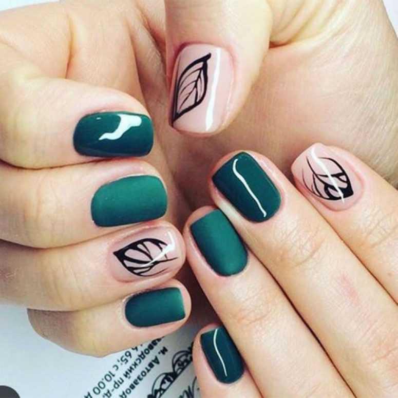 11 Крутых идей маникюра для коротких ногтей