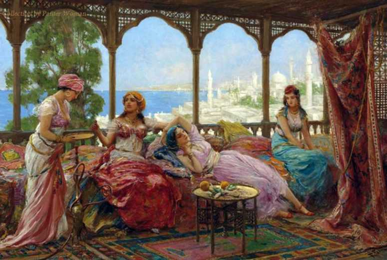 Мудрая притча о четырёх женах