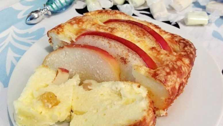 Лучший диетический десерт: Яблоки, запеченные с творогом