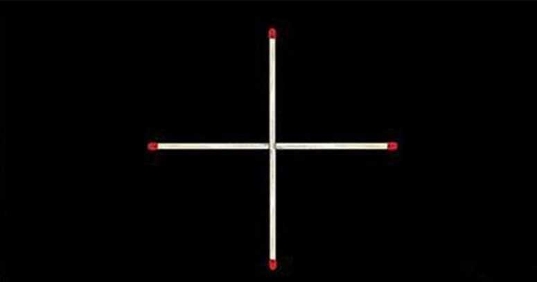 Достаточно ли вы умны, чтобы сделать квадрат, передвинув только 1 спичку