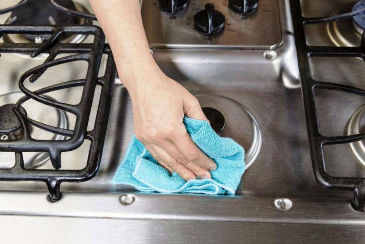 Чем чистить плитку и решетку, чтобы грязь и жир отмылись.