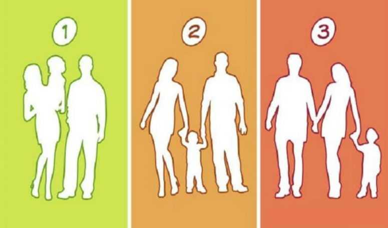 Угадайте, какая из этих семей — ненастоящая