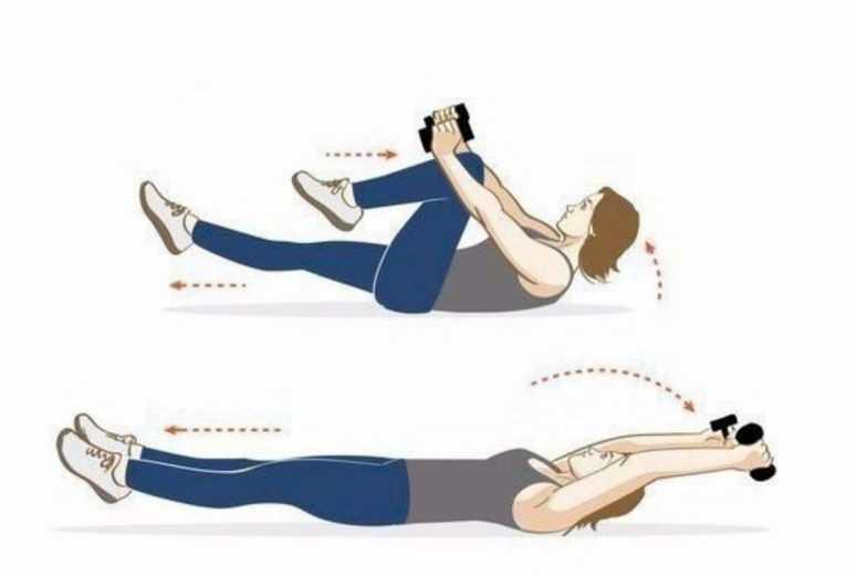 Хорошие упражнения для здоровой спины и красивых рук