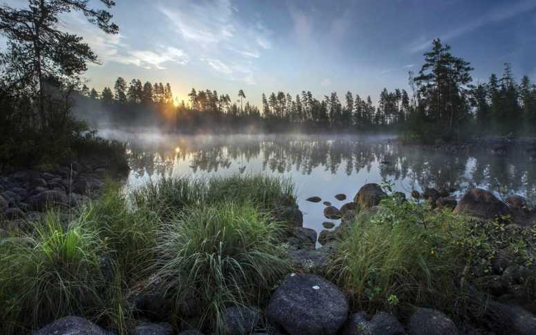 Сегодня Бог проснулся на рассвете… Красивое стихотворение!