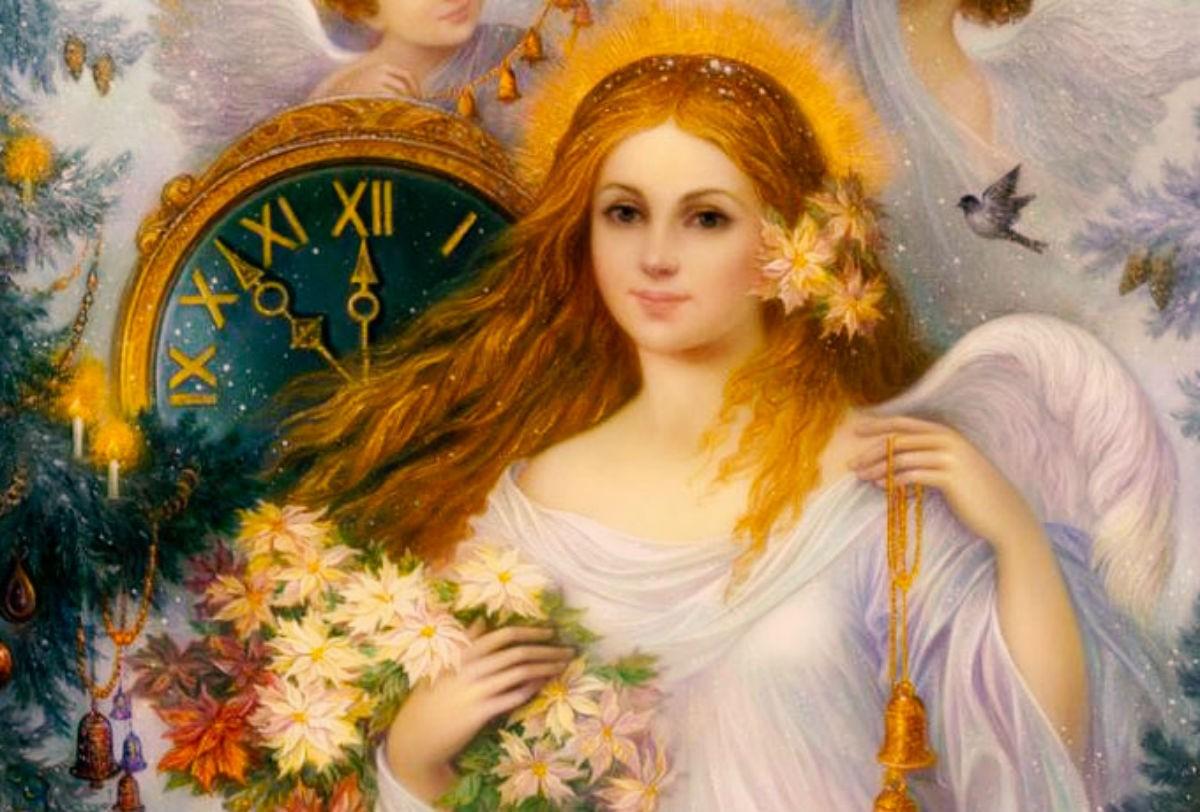 Часы ангела на май текущего года.