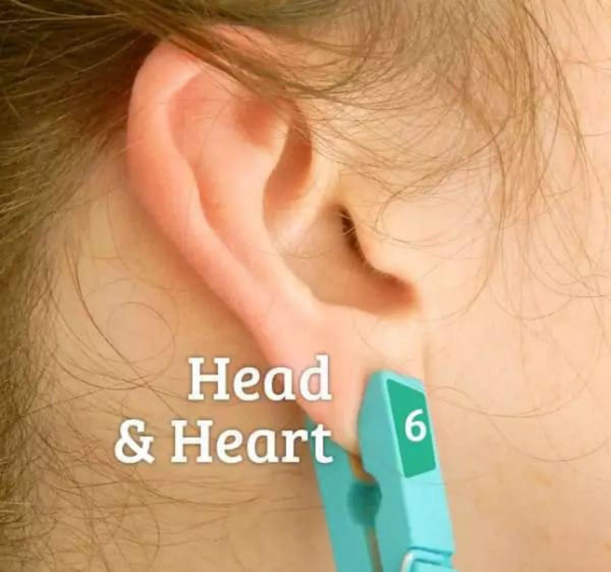 Она прицепила прищепку на ухо. Вы думаете, просто так? Идея просто класс!