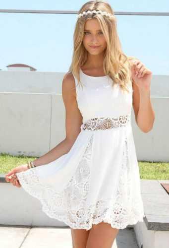 Белое бохо, или Сказочная одежда для королевы летнего пляжа