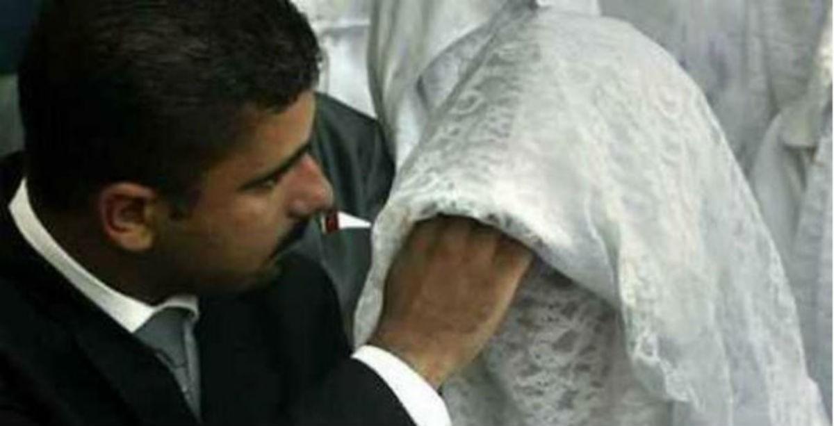 Муж развелся после того, как впервые увидел лицо супруги