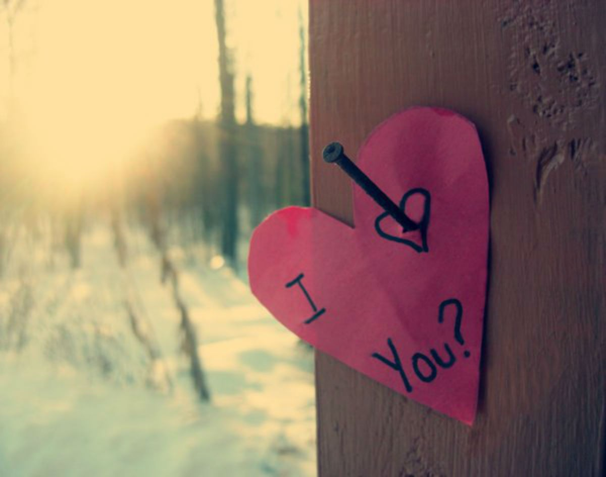 Признавайтесь в любви, даже если боитесь отказа.