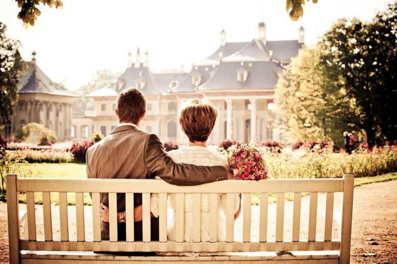 пара, невеста, любовь