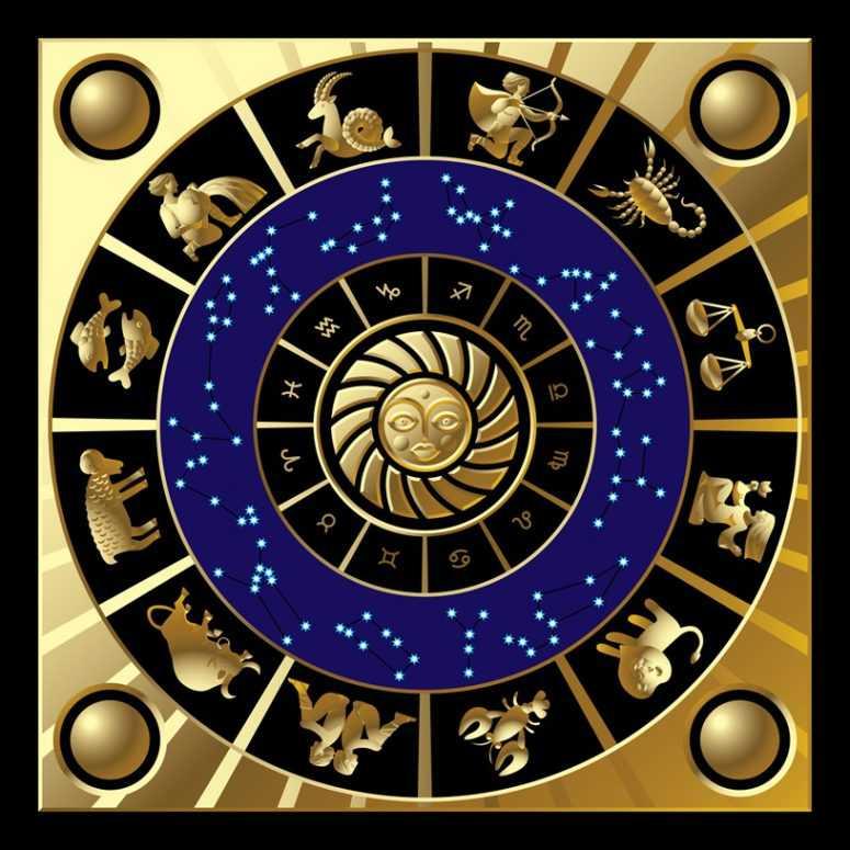 Открытки со знаками зодиака круглые, поздравлениями