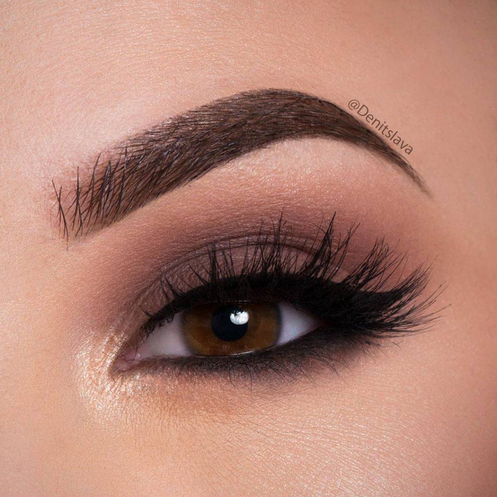 легкий макияж для карих глаз картинки рубрику готовим