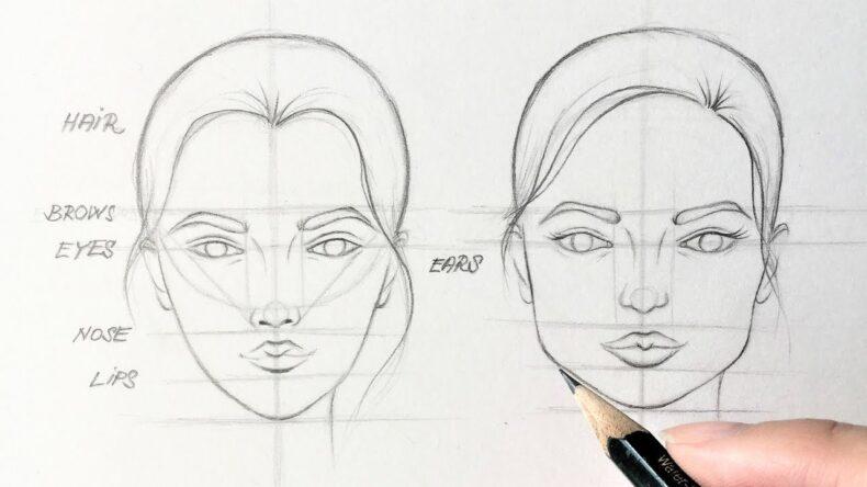 Как нарисовать нос легко и быстро: мастер-класс по рисованию для начинающих